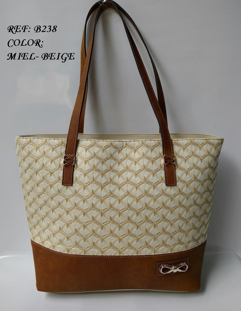cartera beis miel amplía para dama bolsos moda en colombia. Cargando zoom. b4c652f58f8d