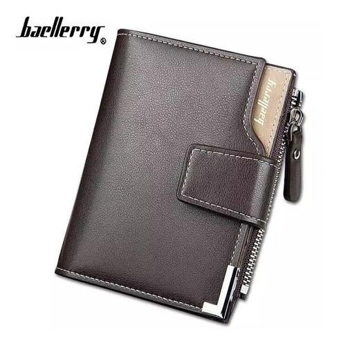 cartera billetera baellerry original compartimentos tarjetas