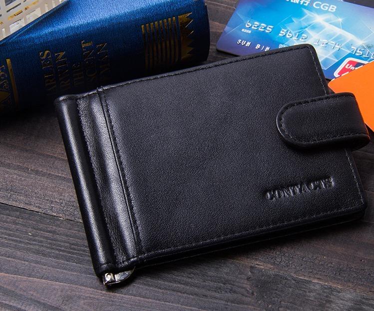 precio oficial navegar por las últimas colecciones proporcionar una gran selección de Cartera Billetera Clip Para Billetes Monedero Piel Genuina