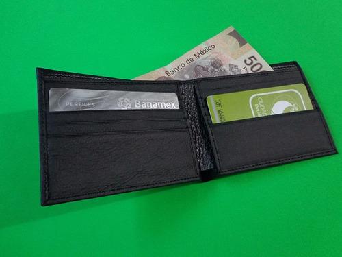 cartera billetera de piel genuina personalizada con láser!!!