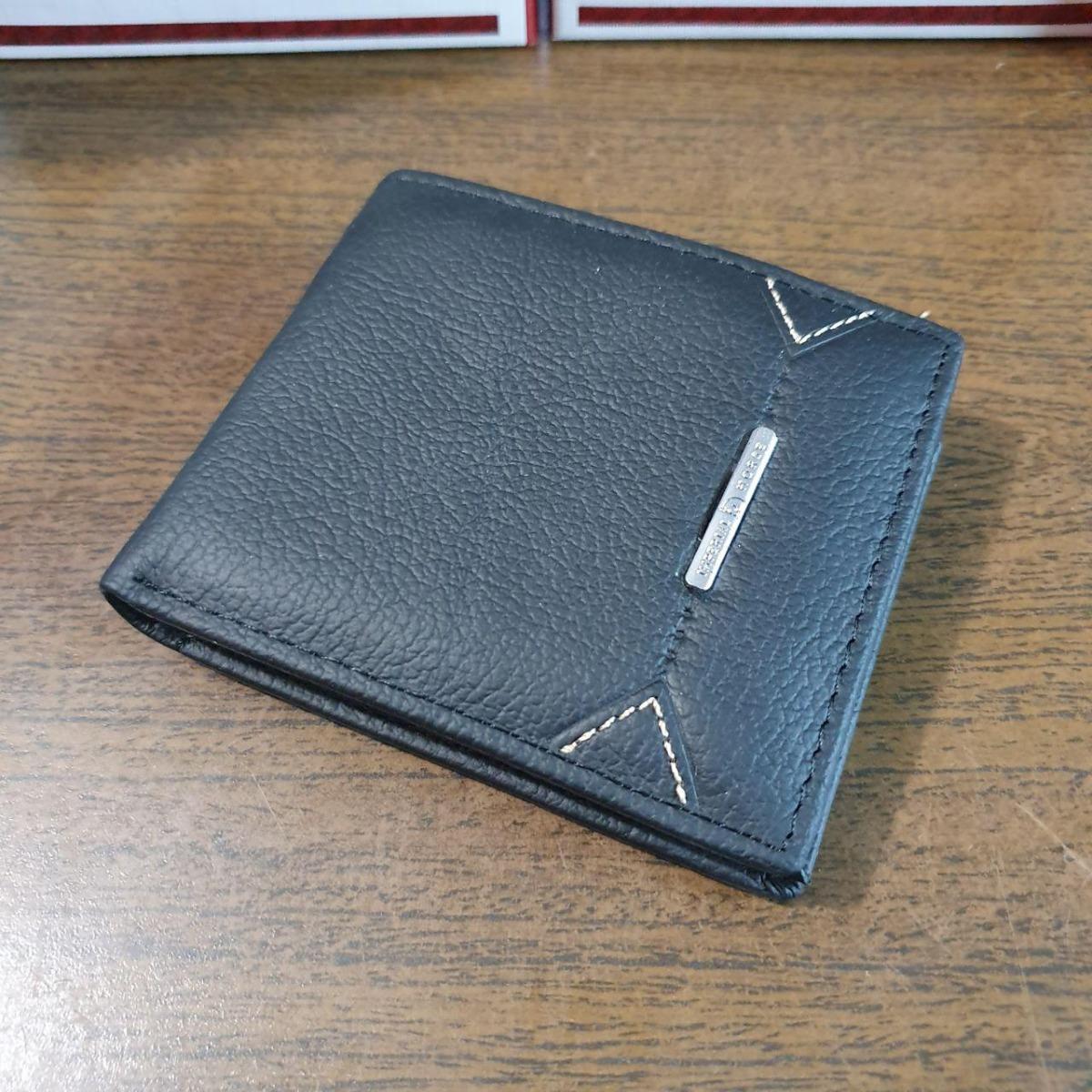 7bdb4fbcc cartera billetera elegante negro hombre oferta piel horse. Cargando zoom.
