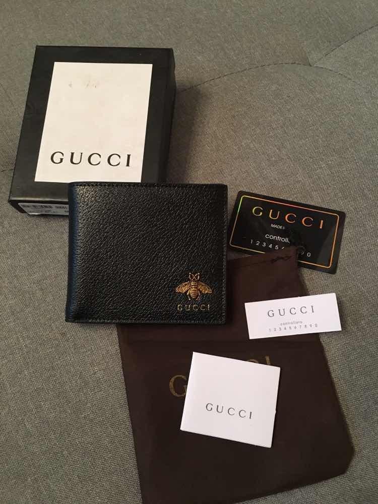 76ee415b0 Cartera Billetera Gucci Animalier Bee Caballero - $ 1,899.00 en ...