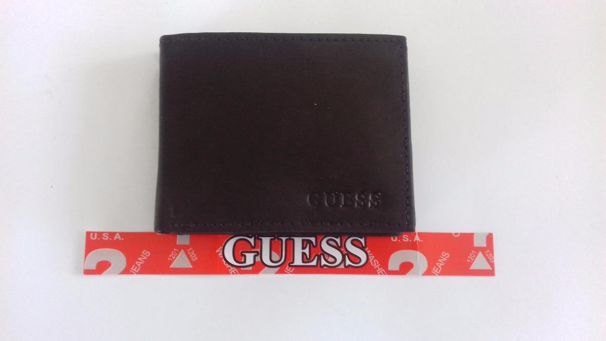 77e3dc168 Cartera Billetera Guess Piel Auténtica - $ 229.00 en Mercado Libre