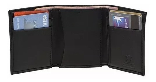 cartera billetera hombre 100% piel para caballero ax208