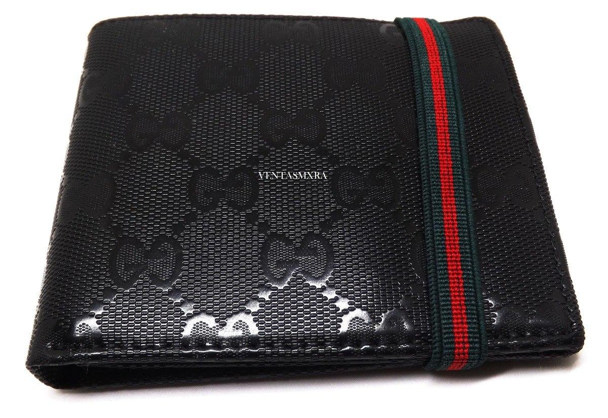 2a3fbc485 Cartera Billetera Hombre Gucci 3 - $ 549.00 en Mercado Libre