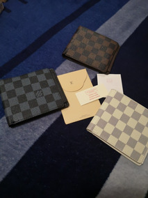 de28687a4 Cartera Louis Vuitton Clásica Color Cafe Lv Hombre - Carteras de ...