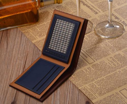 cartera billetera para hombre fuerdanni original de lujo