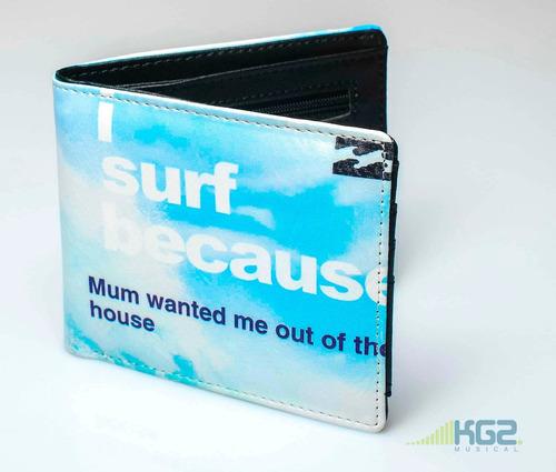 cartera billetera skate surf volcom quiksilver billobong