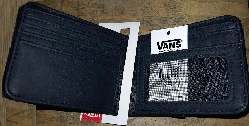 billetera vans hombre