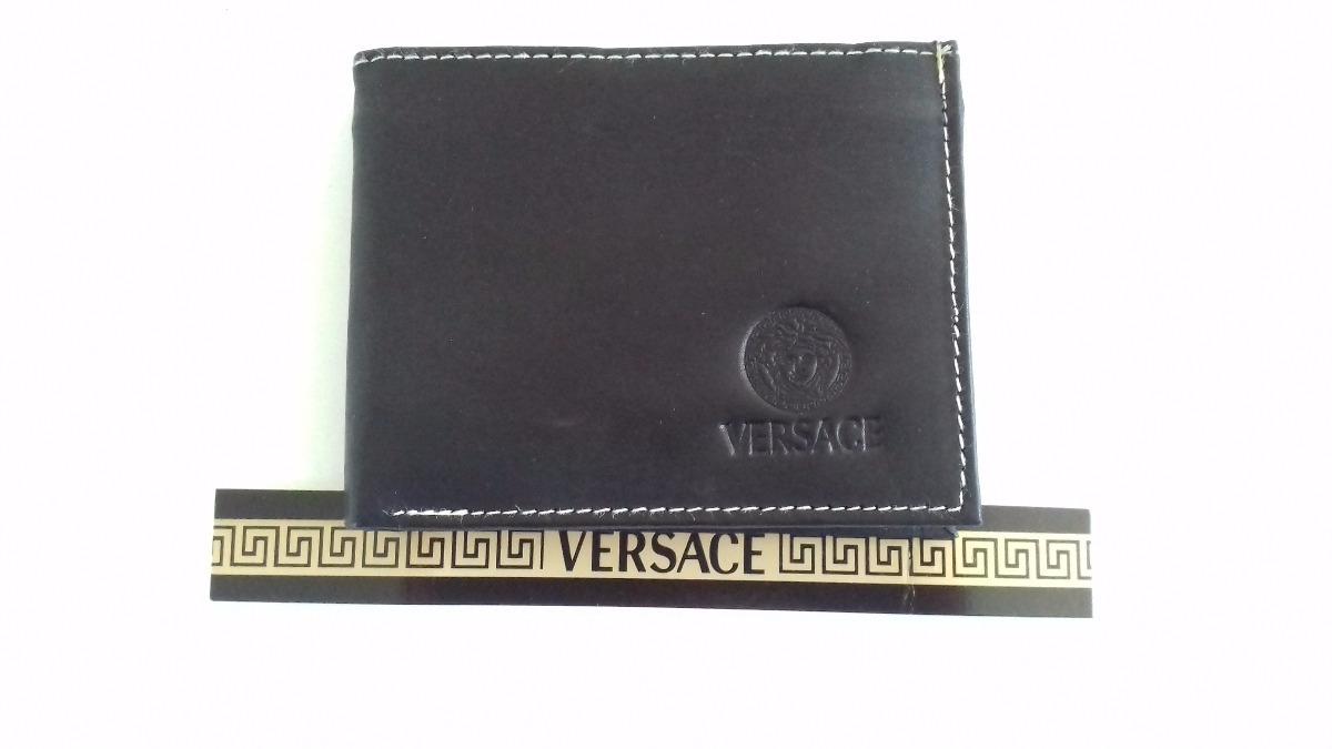 c87098467 Cartera Billetera Versace Piel Sintética. - $ 199.00 en Mercado Libre