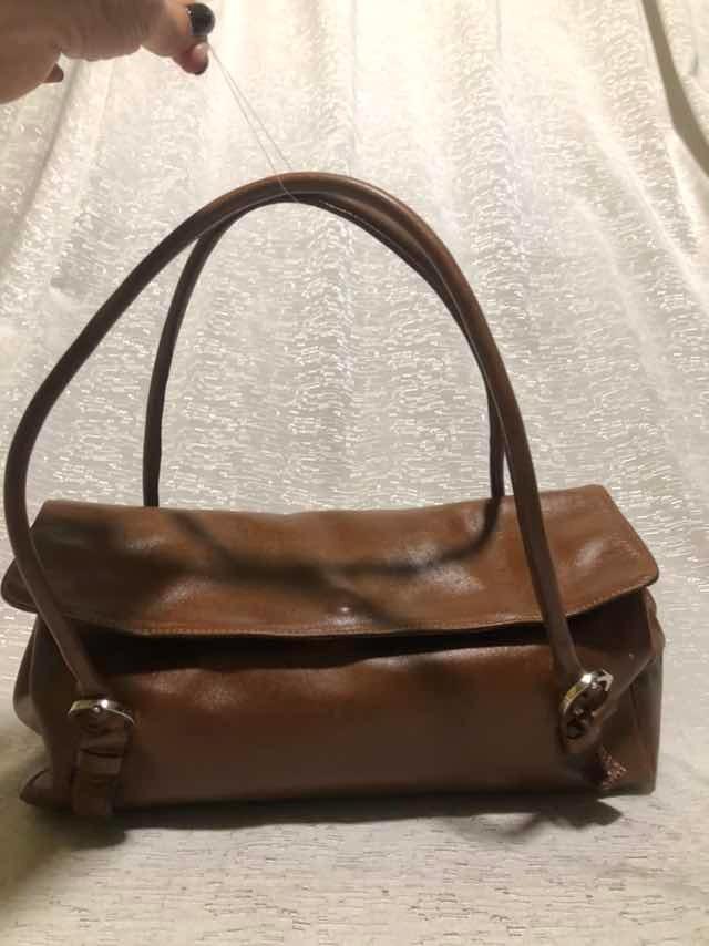 21eeb8346 cartera blaque cuero ecológico marron totalmente perfecta!!! Cargando zoom.