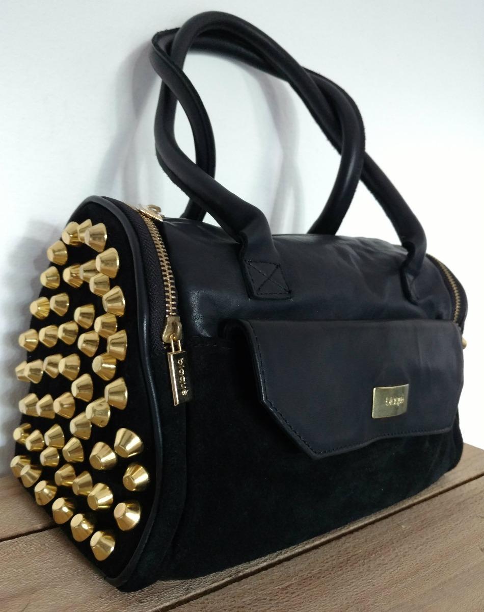 0dcb420ae Cartera Blaque Negra Cuero Impecable - $ 1.200,00 en Mercado Libre