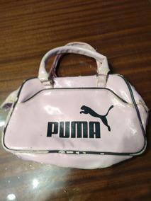 Cartera Bolsito Puma Con Estampa Rosa (fallada)