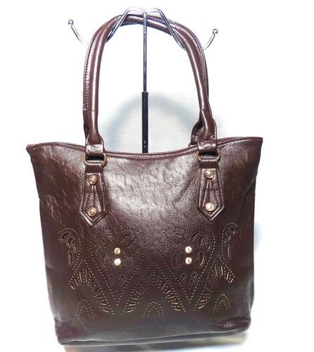cartera bolso bandolero mayor detal 3356 marrón mujer