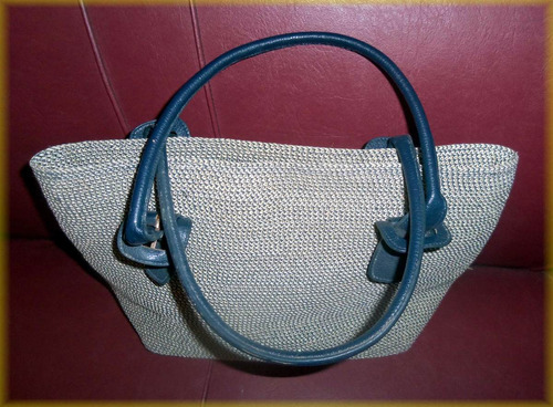 cartera-bolso blue kiss
