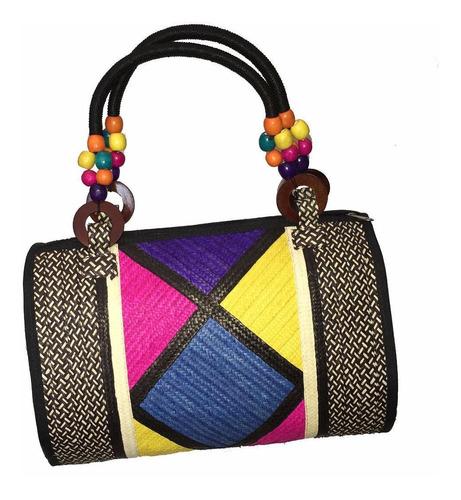 cartera bolso dama mujer joven artesania colombia