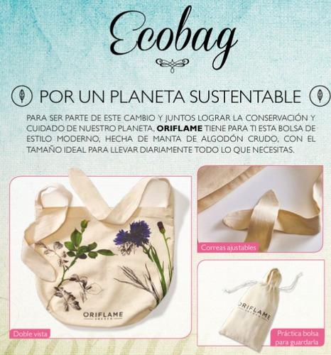 cartera bolso ecológico ecobag oriflame