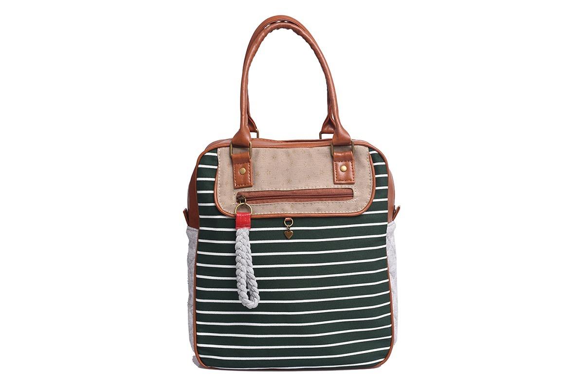 3b575b77b cartera bolso mujer urbano nice marinero matriona tela verde. Cargando zoom.
