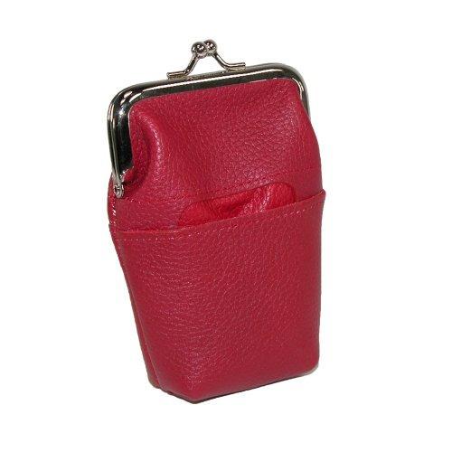 cartera buxton  para mujer rosado