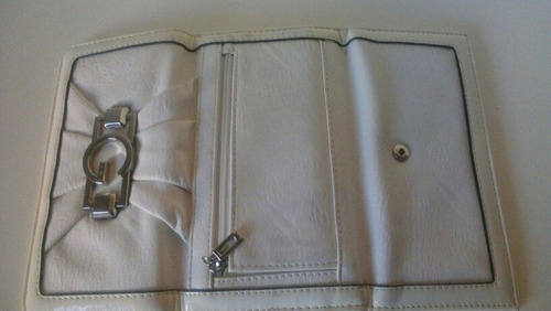 cartera by guess, blanca