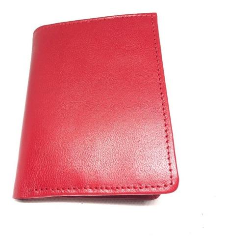 cartera caballero roja