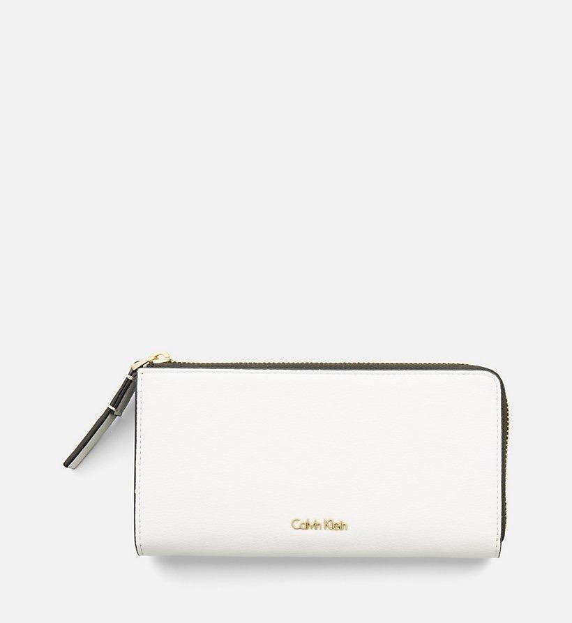 ed99434c6 Cartera Calvin Klein Dama Original Piel Cierre - $ 999.00 en Mercado ...