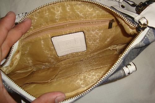 cartera coach original 18 centimetros y 31 centimetros