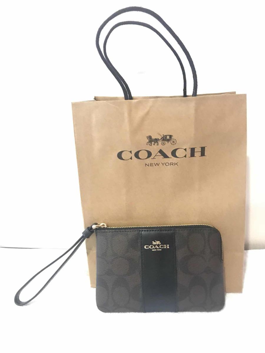 c500ba723e09e cartera coach wrislet brazalete monedero bolsa. Cargando zoom.