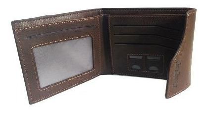 cartera con tarjetero billetera caballero vintage d-970