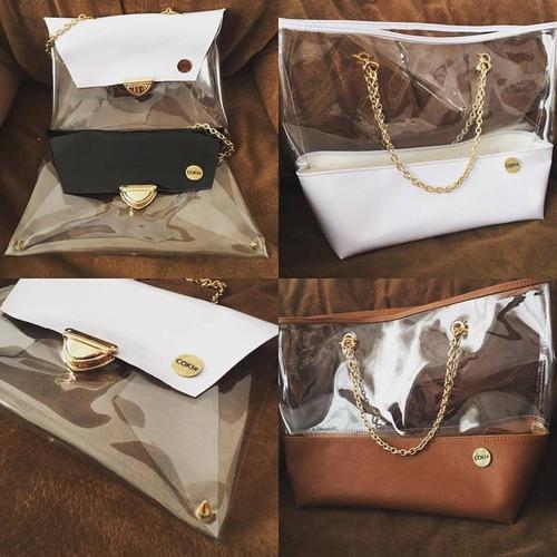 cartera cristal bags by coki ramirez