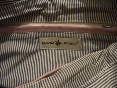 cartera david jones 100% original