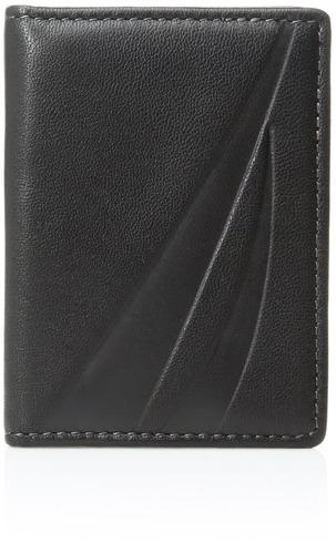 cartera de bolsillo delantera delgada de sussex de los hombr