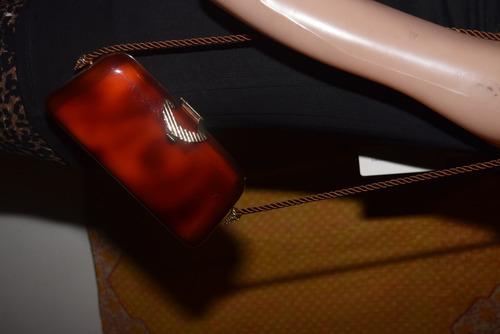 c03e539df Cartera De Carey Marron Vintage - $ 680,00 en Mercado Libre