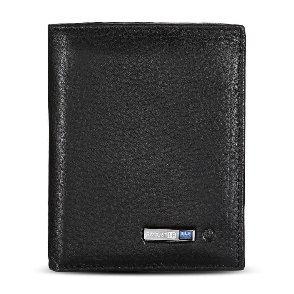 3b44e7a99 cartera de cuero bluetooth smart gps billetera lujo hombre. Cargando zoom.