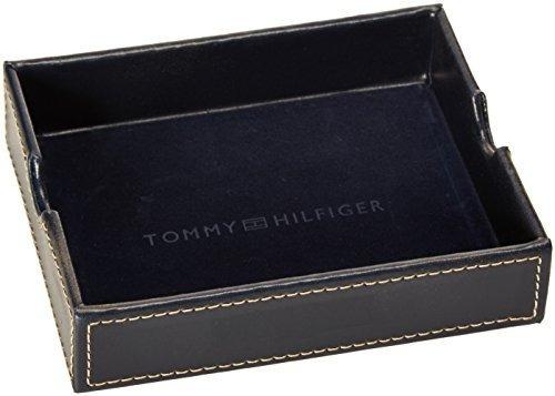 Tommy Hilfiger Billetera para Hombre con 6 Bolsillos para Tarjetas de cr/édito y Ventana extra/íble