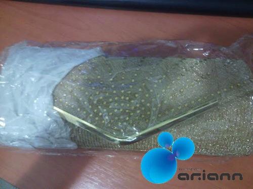 cartera de fiesta dorada elegante moderna ideal para ti nuev