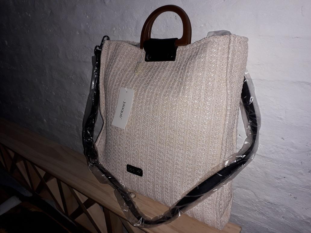 89fb6305a Cartera De Mano Bandolera Blaque Beige Nueva - $ 1.999,00 en Mercado ...