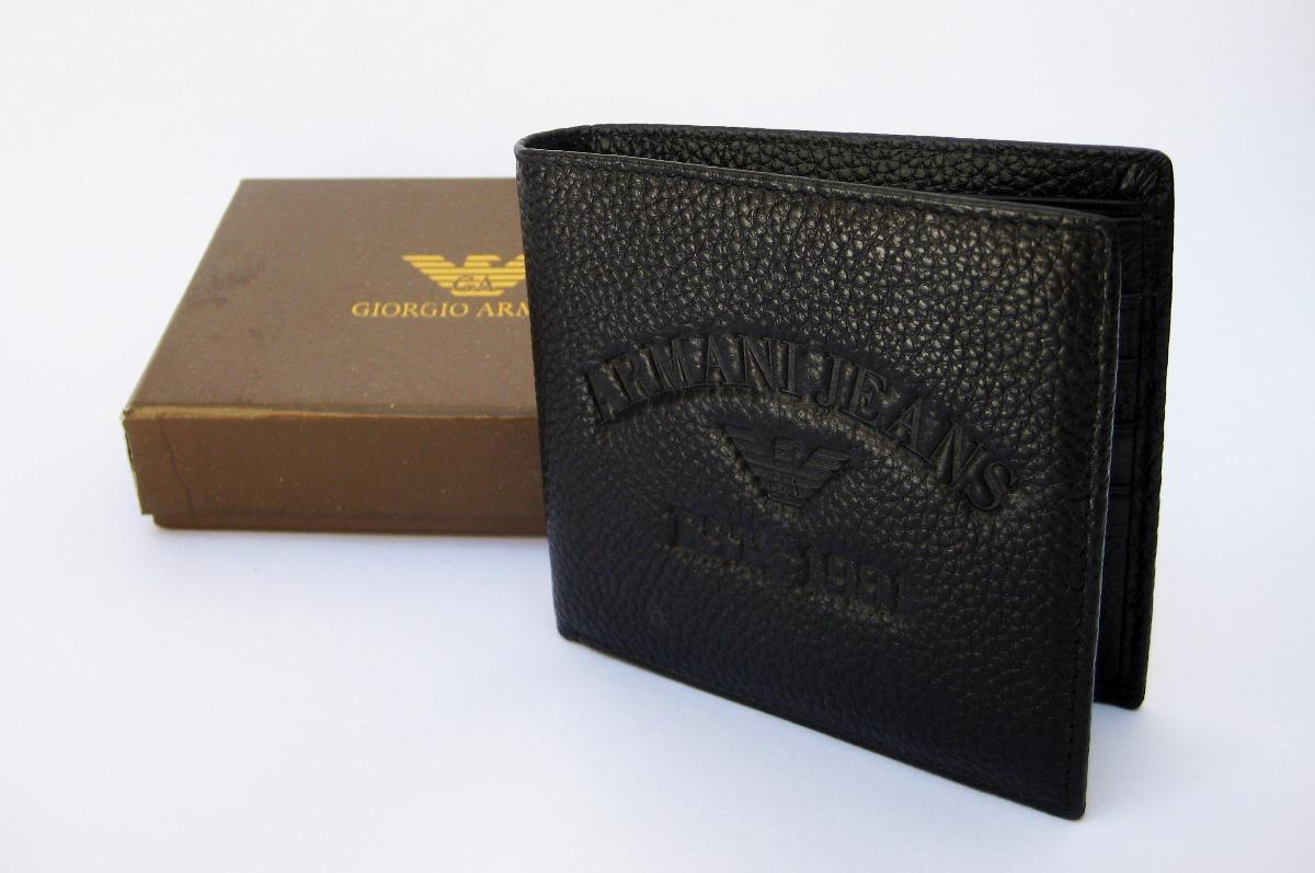 d11cca010 cartera de piel giorgio armani para caballero con estuche. Cargando zoom.
