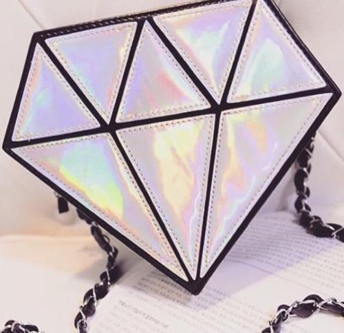 cartera diamante