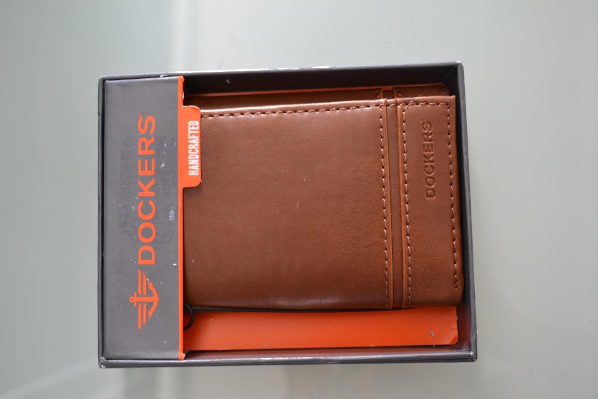 ce40f5af0 Cartera Dockers, Color Café,hecha A Mano, Enviogratis - $ 599.00 en ...