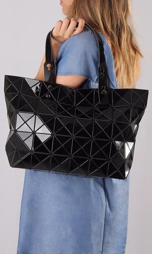 cartera eco cuero importada diseño mia negro outside tokyo