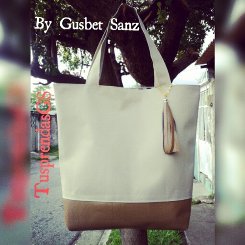 cartera grande, tipo tote bag,dama casual, elegante,mujer