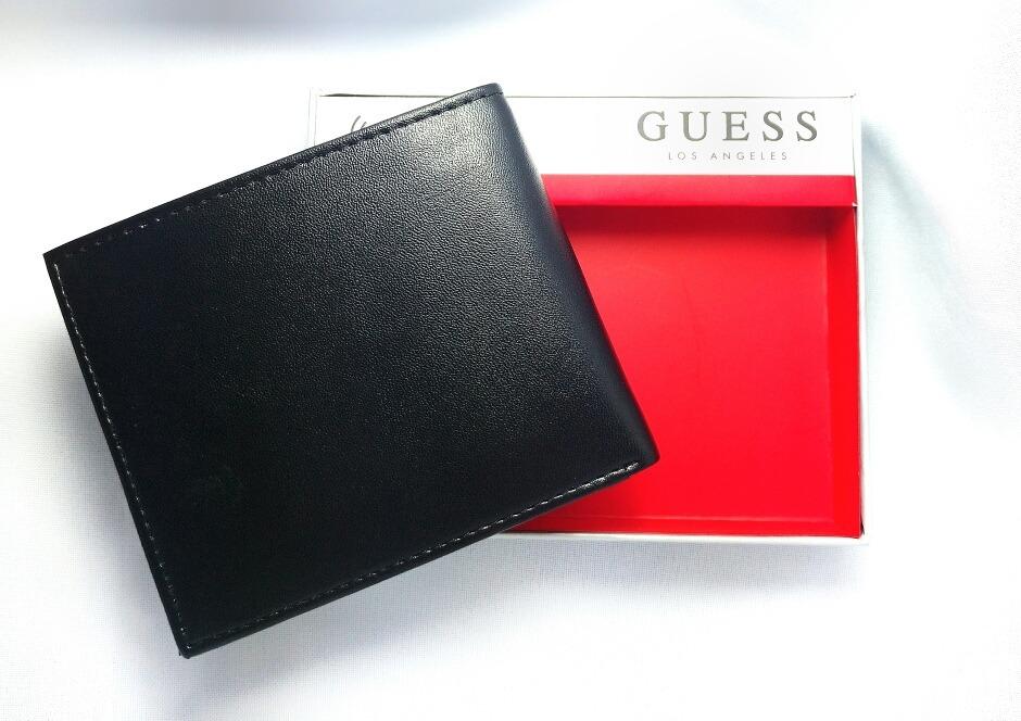 0ef8392b Cartera Guess Nueva Original Caballero Negra Piel - $ 1,200.00 en ...