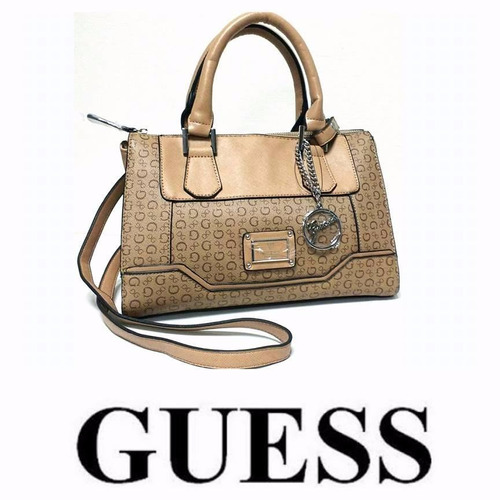 cartera guess original  mod sailorette color cafe cod 6872