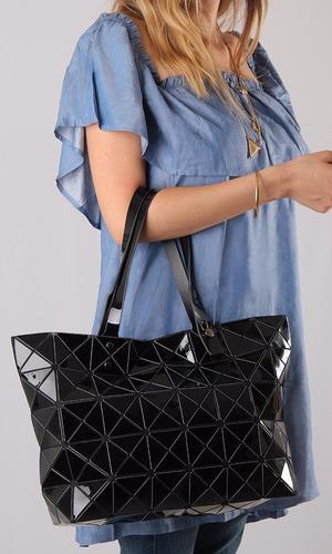 cartera importada mujer original ultra liviana negro tokyo