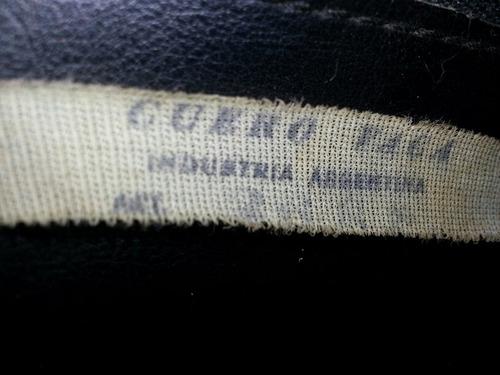 cartera importada piel de vaca made in argentina en buen edo