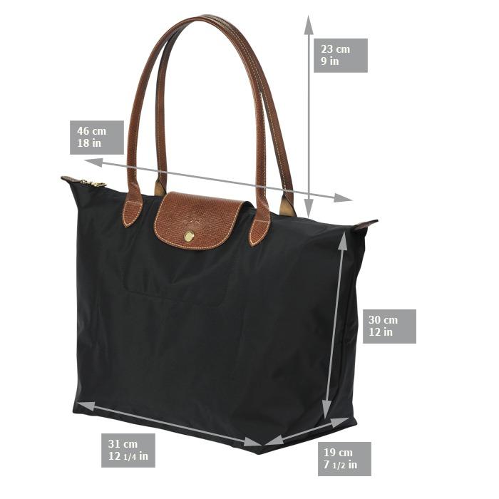 10b20399a Cartera Longchamp Le Pliage Original - Negra - Mediana - $ 2.700,00 ...