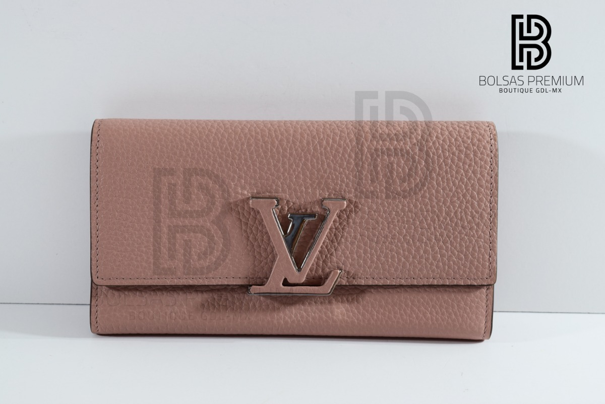 3586b0521 Cartera Louis Vuitton Capucines - $ 5,500.00 en Mercado Libre