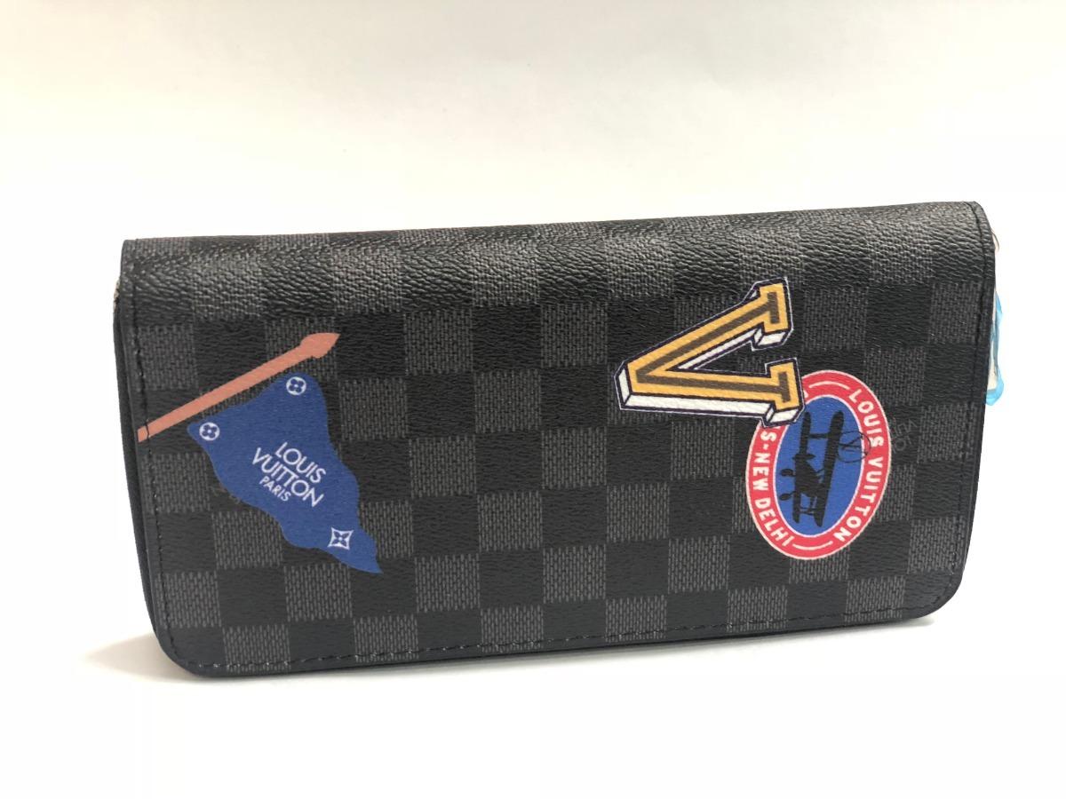 61abdc9b3 Cartera Louis Vuitton Zippy Dama Exclusivo Diseño (6) - $ 1,999.00 ...
