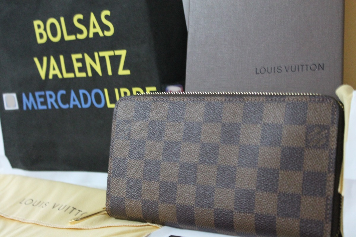 bfd83bac2 Cartera Louis Vuitton Zippy Wallet Dama Factura Neverfull Lv ...